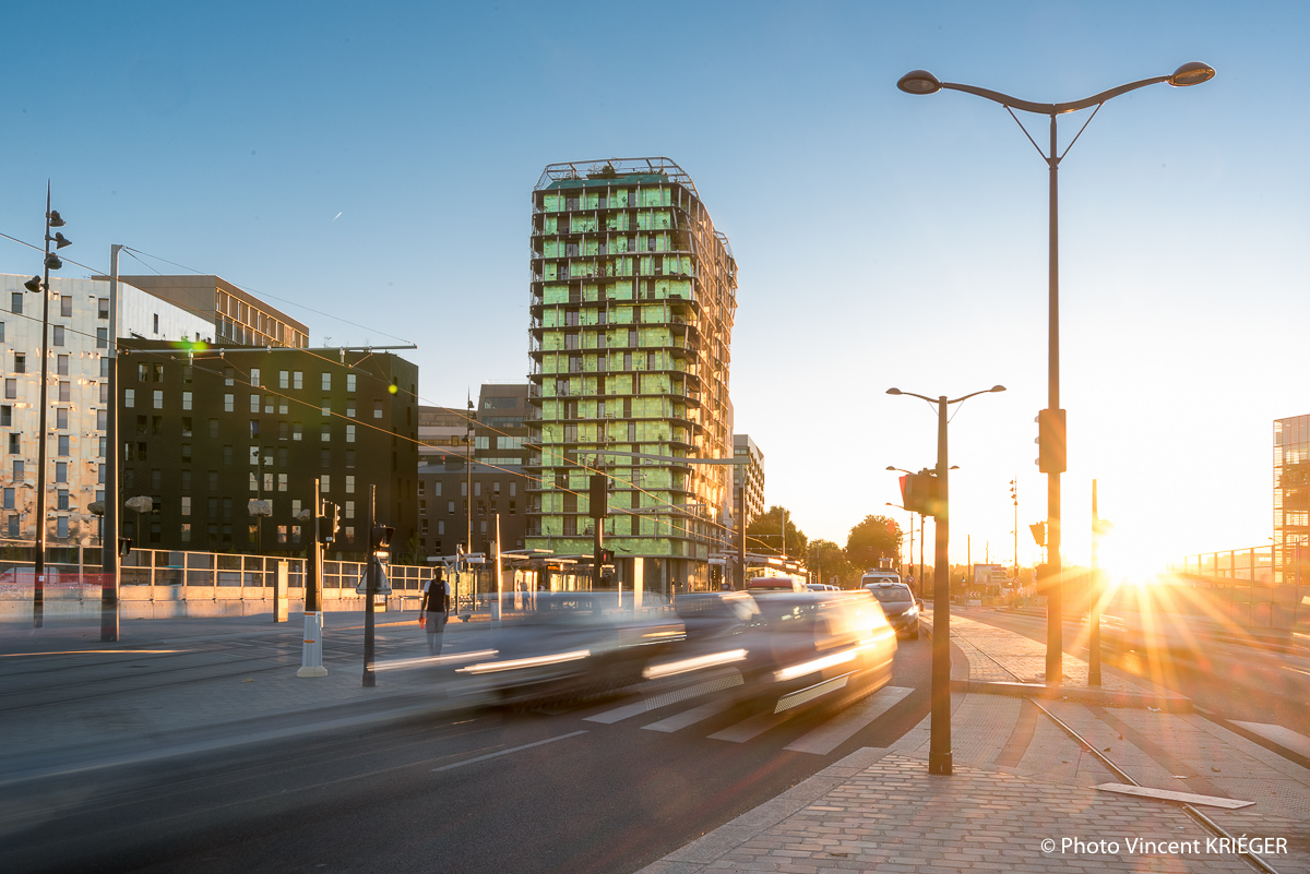 Photographe architecture Paris, photographie d'immobilier, habitat social